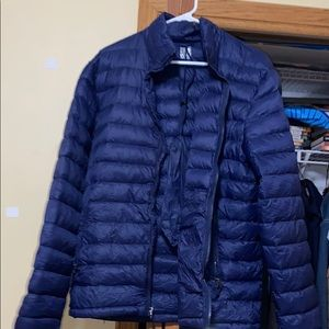 Men's Small Heat Winter Coat Jacket